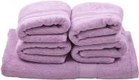 Homeway Cotton Bath & Hand Towel Set Bath & Hand Towel Set, Lavender