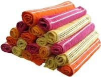 ShopSince Cotton Face Towel Multicolour Cotton Face Towel Set Of 24, Multicolor