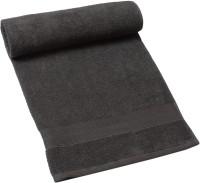 HomeTex Cotton Bath Towel (1 Bath Towel, Dark Grey)