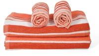 Cortina Cotton Bath & Hand Towel Set 2PC Hand Towel Set, 2PC Bath Towel Set, Multicolor