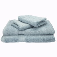 Mark Home Cotton Bath & Hand Towel Set Bath & Hand Towel Set, Blue
