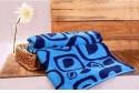 Trident Home Essentials Jacquard Abstract Bath Towel