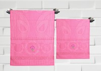 Fantasy Home Decor Nature Cotton Bath Towel Set Set Of 2 Bath Towel, Pink
