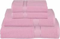 RR Textile House Cotton Bath, Hand & Face Towel Set Ladies Towel 1, Bath Towel 2, Hand Towel, Purple