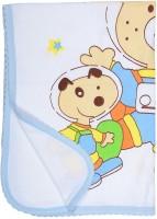 Tinny Tots Baby Bathing Seriers Cotton Bath Towel (1 Bath Towel, Blue)