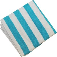 Valtellina Cotton Bath Towel 1 Bath Towel, White, Blue