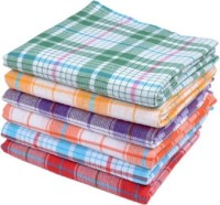 Cotton Colors Cotton Bath Towel 6 Bath Towels, Multicolor