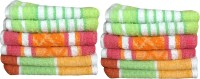 Fzyme Cotton Hand Towel Set, Hand Towel, Set Of Towels, Multi-purpose Towel 12 Hand Towels, Multicolor