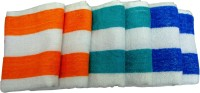 Fashiza JJ Cotton Terry Hand Towel Set 6 Hand Towel Set, Multicolour