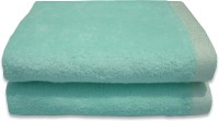 Divine Overseas Cotton Hand Towel Set 2 Pieces Premium Hand Towel Set, Mint