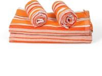 Cortina Cotton Bath & Hand Towel Set 2PC Hand Towel Set, 2PC Bath Towel Set, Orange - BTWEJDRTPQQYEHKX