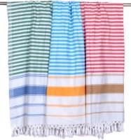 Sathya Cotton Bath Towel 3 Bath Towel, Green, Blue, Red