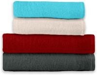 Story @ Home Cotton Bath & Hand Towel Set 2 Bath Towel, 2 Hand Towel, Multicolor - BTWEB98TPYK6WJVW