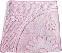 Mandhania Terry Cotton Bath Towel 1 Bath Towel, Pink