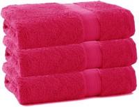 Juvenile Cotton Set Of Towels 3 Pcs Of Towel, Pink
