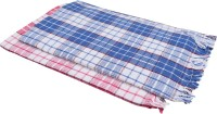 Suam Cotton Bath Towel Pack Of 2 Bath Towel, Red, Blue