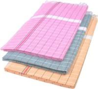 Cotton Colors Cotton Bath Towel 3 Bath Towels, Multicolor