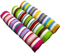 ShopSince Cotton Bath Towel Multicolour Cotton Terry Bath Towel - Set Of 3, Multicolor