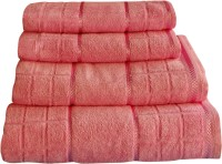 Creative Terry Cotton Bath Towel 4 Bath Towel, Pink