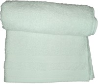 Amita Home Furnishing Cotton Bath Towel 1 Bath Towel, White