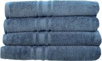 Rakshan Cotton Bath Towel Set (Pack Of Towel 4, Blue)