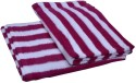 Skumars Love Touch Stripe Knitted Bath Towel - BTWEFVF7ESGY9PDS