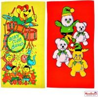 Mandhania Cotton Bath Towel Pack Of 2 Kids Bath Towels, Multicolor - BTWEMB2AHFHTAPHG