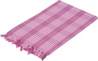 Sathya Cotton Bath Towel Bath Towel, Pink, White, Green