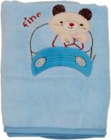 Belle Maison Fancy Cotton Baby Towel (Kids Bath Towel, Blue)