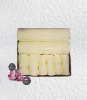 Stellar Home USA Cyrstal Cotton Bath, Hand & Face Towel Set 2 Bath Towel & 2 Hand Towel & 4 Face Towel, Yellow