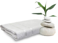 Story@home Cotton Bath Towel 1 Pc Bath Towel, White