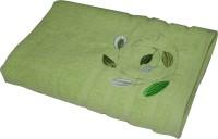 Gran Bath Towel Cotton Bath Towel (1 Bath Towel, Green)