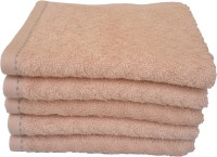 Divine Overseas Cotton Hand Towel Set 5 Pieces Premium Hand Towel, Beige