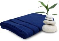 Story@home Cotton Bath Towel (1 Ladies Bath Towel, Dark Blue)