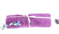 Shoppingtara Soft Cotton 100% Cotton, Bath Towel (Bath Towel, Purple)