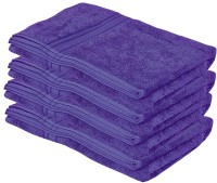 Pipal Cotton Set Of Towels 4 Ladies Bath Towel, Blue