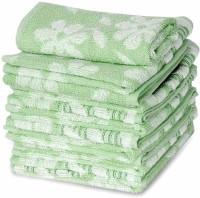 ShopSince Cotton Face Towel ShopSince Multicolor Floral Cotton Face Towels Set Of 6, Multicolor