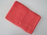 Bombay Dyeing Cotton Bath Towel (1 Bath Towel, Dark Pink)