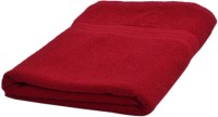 Skumars Love Touch Premia Cotton Bath Towel (1 Bath Towel, Red)