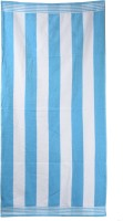 Sassoon Cotton Bath Towel (Bath Towels, White, Light Blue)