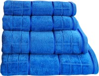 Creative Terry Cotton Bath Towel 4 Bath Towel, Blue
