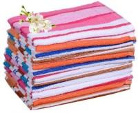 Xy Decor Cotton Hand Towel Set Hand Towel Set Of 12, Multicolour