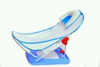 Feathers Baby Bather (Blue)