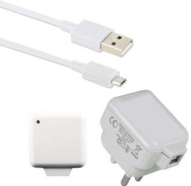 Dhhan 3pin 2.1A USB Charger With Cable For Motorola Moto X Play 16GB Battery Charger (white)