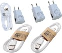 SJ Three USB Data Cable And Three Dock For Sony Xperia Z3 Compact Phones Battery Charger (White)