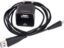 Stuffcool Charge It USB Wall Charger 1 Amp With Micro USB Cable - Black Battery Charger (Black)