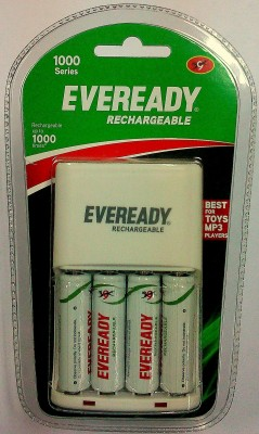 Buy Eveready 1000 Series (with 4 AA Rechargeable battery) Charger: Battery Charger