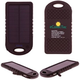 eConecTec 5000mAh Solar Power Bank