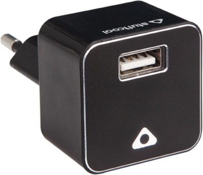 Stuffcool 1A USB Mobile Charger UNO - Black Battery Charger (Black)