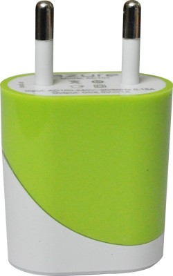 Azure USB Mobile Charger (1 A Output) Battery Charger (Green)